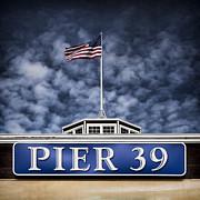 Pier 39 Print by David Bowman