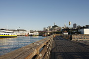 Kimberly Oegerle Metal Prints - Pier 39 Metal Print by Kimberly Oegerle