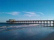 Tybee Island Pier Photos - Pier At Tybee Island by Lettie Krell