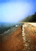 Realistic Photo Prints - Pier Cove Beach Print by Michelle Calkins