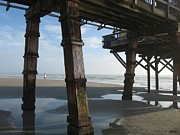 Beach Scenes Digital Art - Pier Pressure by Brian Johnson