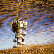 Semi Abstract Metal Prints - Pier Tower Metal Print by David Bowman