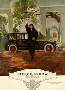Pierce-arrow  1920s Usa Cc Cars Pierce Print by The Advertising Archives