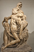 Architecture Photos Art - Pieta by Michelangelo by Melany Sarafis