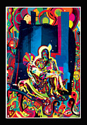 Isus Framed Prints - Pieta Framed Print by Vladimir Stanisevic