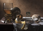 Banquet Photos - Pieter Claesz- Breakfast piece by Levin Rodriguez