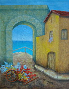 Sea View Art - Pietrasanta in Tuscany by Pamela Allegretto