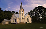 Pigeon Forge Photos - Pigeon Forge Church Tennessee by Randall Branham