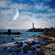 Fresnel Prints - Pigeon point lighthouse Print by Elena Nosyreva