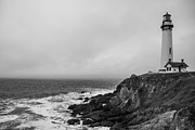 Point Arena Prints - Pigeon Point Lighthouse Print by Ralf Kaiser
