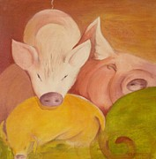 Georgia Annwell - Pigs at Restt
