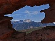 Siamese Photo Prints - Pikes Peak 2 2012 Print by Ernie Echols