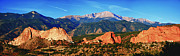 Bruce Hamel - Pikes Peak And Garden Of...