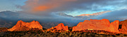 Colorado Springs Art - Pikes Peak and Garden of the Gods Panorama by Ken Smith