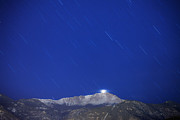 Pikes Peak Under The Stars Print by Darren  White