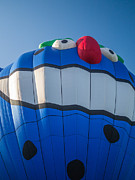 Heat Photo Prints - PIKO the Hot Air Balloon Print by Edward Fielding