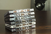 Data Photo Originals - Pile of audio tape cassettes by Deyan Georgiev