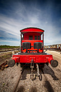 Caboose Framed Prints - Pill Box Brake Van 2 Framed Print by Chris Thaxter