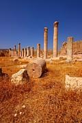 Pillars Of Ruin Print by FireFlux Studios