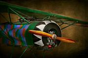 Pilot - Plane - German Ww1 Fighter - Fokker D Viii Print by Mike Savad