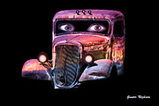 Gunter Nezhoda Metal Prints - Pin Up Cars - #3 Metal Print by Gunter Nezhoda