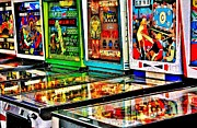 Video Art - Pinball Lineup by Benjamin Yeager