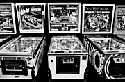 Games Room Framed Prints - Pinball Memories Framed Print by Benjamin Yeager