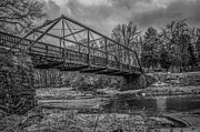 Muscatine Prints - Pine Creek Bridge Print by Ray Congrove