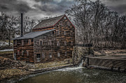 Muscatine Prints - Pine Creek Mill Print by Ray Congrove