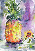 Ginette Fine Art LLC Ginette Callaway - Pineapple and Orchids