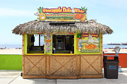 Roller Coaster Photos - Pineapple Dole Whip At The Santa Cruz Beach Boardwalk California 5D23688 by Wingsdomain Art and Photography