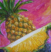 Paris Wyatt Llanso - Pineapples on Pink