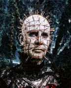 Hellraiser Framed Prints - Pinhead Framed Print by Joe Misrasi
