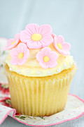 Stephanie Frey - Pink and Yellow Cupcakes