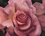 Billie Colson Paintings - Pink Bloom by Billie Colson