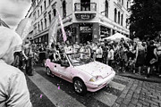 Lesbian Art - Pink Cadillac by Erik Brede