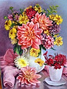 The Buffet Originals - Pink dahlia by Igor Rassokhin