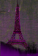Kate Farrant - Pink Eiffel Tower