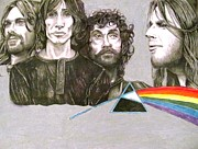 Band Pastels Originals - Pink Floyd by Daniel Destefano