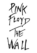Guitar Player Prints - Pink Floyd No.01 Print by Caio Caldas