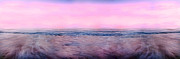 Topsail Island Photos - Pink Horizon by Betsy A Cutler East Coast Barrier Islands