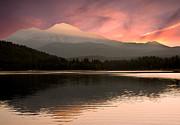 Randall Branham - PInk lake Siskiyou Reflecting Mt Shasta