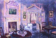Tables Originals - Pink Light at Mount Vernon by Kendall Kessler