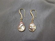 Featured Jewelry - Pink pearl earrings by Jan Durand