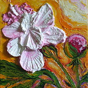 Paris Wyatt Llanso Prints - Pink Peony Print by Paris Wyatt Llanso