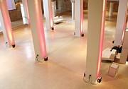 Pink Pillars I Print by Anna Villarreal Garbis