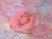 Abstract Rose Digital Art - Pink Rose by Louis Ferreira