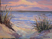 Beach Sunsets Originals - Pink Sands by Evelyn Cassaday