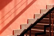 Prakash Ghai - Pink Staircase