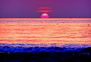 Eventide Prints - Pink Sun Print by Nina Ficur Feenan